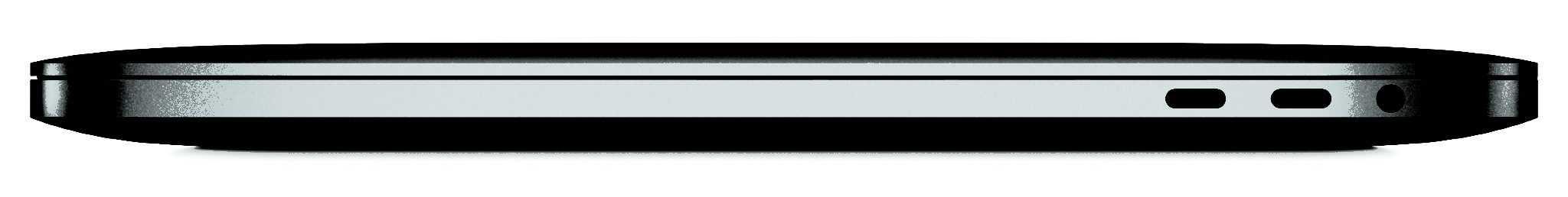 MacBook Pro USB-C and MiniJack Port